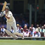 Michael Hussey batting during the Australia V Pakistan 2nd Cricket Test match at the Sydney Cricket Ground, Sydney, Australia, 5 January 2010. Photo Tim Clayton