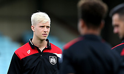Hordur Magnusson of Bristol City arrives at Glanford Park for the EFL Cup fixture with Scunthorpe United - Mandatory by-line: Robbie Stephenson/JMP - 23/08/2016 - FOOTBALL - Glanford Park - Scunthorpe, England - Scunthorpe United v Bristol City - EFL Cup second round