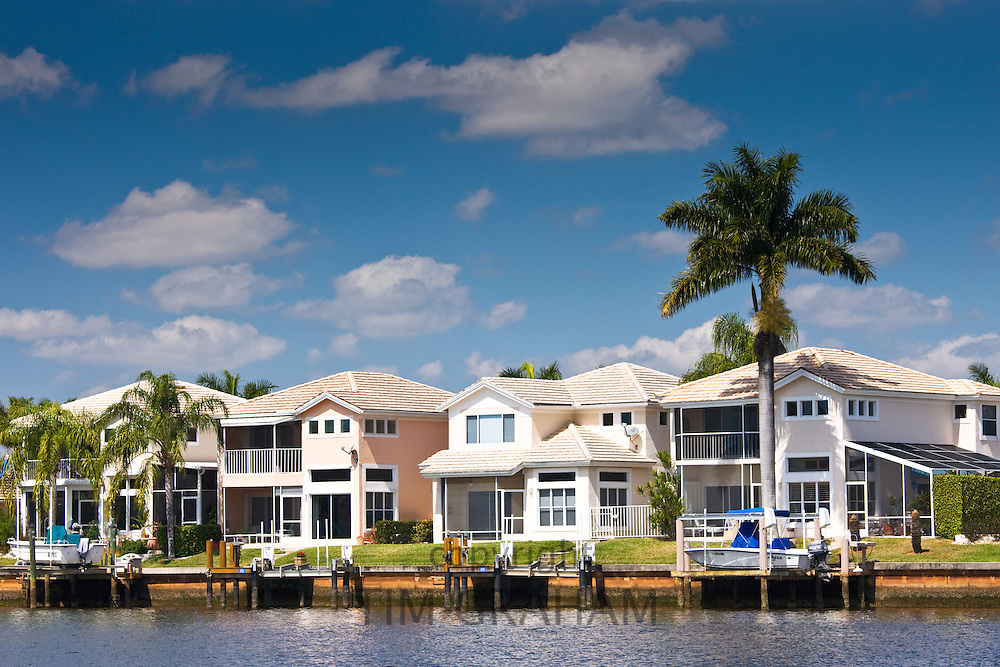 Luxury vacation homes at Port of the Islands, Florida, United States of America