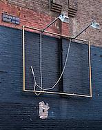Netherlands. Amsterdam, 23-02-2016. Photo: Patrick Post<br /> Disappeared! A Billboard! Verdwenen! Een Billboard! In the Busken Huet Straat.