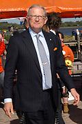 Koninginnedag 2007 in het vestingsstadje Woudrichem / Queensday 2007 in the small village Woudrichem.<br /> <br /> Op de foto / On the Photo; Prof.mr. Pieter van Vollenhoven