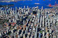 City of Vancouver with Burrard Inlet
