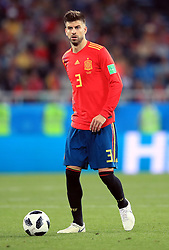 Spain's Gerard Pique