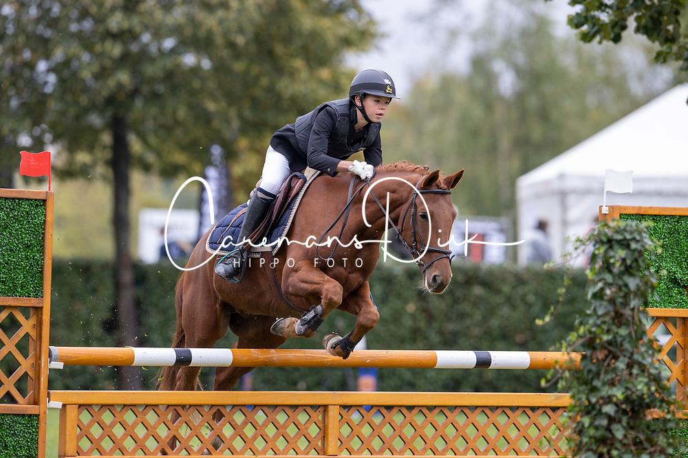 De Cock Lio, BEL, Torino van Prinseveld<br /> Nationaal Kampioenschap LRV Ponies <br /> Lummen 2020<br /> © Hippo Foto - Dirk Caremans<br /> 27/09/2020