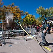 Santa Fe Obelisk - 2020 Protests