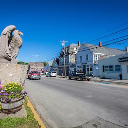 Main Street in Vinalhaven, Maine.