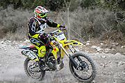 Cross country motorbike race