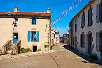 France, Vendée (85), village de Malievre // France, Vendée, Malievre village
