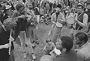 """1006-B013-02 """"Skinners Butte. Hippie festival. Spring 1967"""""""