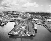 "0103-A030""Port of Seattle. September 20, 1958"" Pier 42 Alaska Steamship Company"