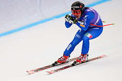 January 19, 2018 - Cortina D'Ampezzo, Dolimites, Italy - Sofia Goggia of Italy competes  during the Downhill race at the Cortina d'Ampezzo FIS World Cup in Cortina d'Ampezzo, Italy on January 19, 2018. (Credit Image: © Rok Rakun/Pacific Press via ZUMA Wire)