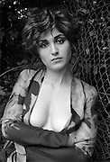 EXCLUSIVE<br /> JULIE GAYET ON A SHOOT IN 1998 - <br /> Julie Gayet has previously denied rumours of an affair with the French president<br /> ©Exclusivepix