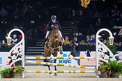 Vandebroek Merel, BEL, Candy van de Kapel<br /> Jumping Mechelen 2019<br /> © Hippo Foto - Sharon Vandeput<br /> 26/12/19