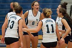 NJAC Volleyball Tournament - Rowan at Stockton