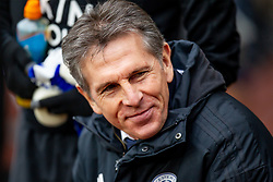 January 19, 2019 - Wolverhampton, England, United Kingdom - Claude Puel Manager of Leicester City  during the Premier League match between Wolverhampton Wanderers and Leicester City at Molineux on Saturday 19th January 2019. (Credit Image: © Mark Fletcher/NurPhoto via ZUMA Press)