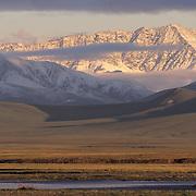 Brooks Range and Turner River in the Arctic National Wildlife Refuge in Alaska.