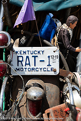 Antique Motorcycle Club of America (AMCA) Sunshine Chapter meet in New Smyrna Beach during Daytona Bike Week, FL. USA. Saturday, March 9, 2019. Photography ©2019 Michael Lichter.