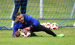 Cape Town-180801-Cape Town City's goalkeeper Stephen Sage at training session at Hartleyvale Stadium, ahead of their opening game of the 2018/2019 PSL season against Supersport United at Cape Town Stadium on saturday.Photograph:Phando Jikelo/African News Agency/ANA