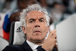 May 5, 2018 - Turin, Piedmont/Turin, Italy - The head coach of Bologna Roberto Donadoni during the Serie A football match Juventus fc vs Bologna. Juventus won 3-1 at Allianz Stadium, in Turin, Italy 5th may 2018 (Credit Image: © Albertogandolfo/Pacific Press via ZUMA Wire)
