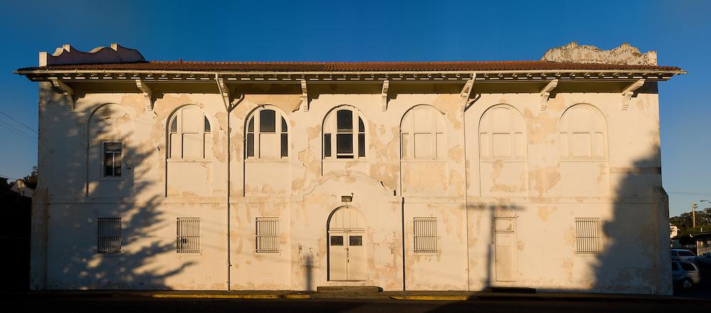 Old Building with Peeling Paint. (34020 x 15000 pixels)