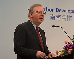 August 28, 2017 - Beijin, Beijin, China - Beijing, CHINA-28th August 2017: (EDITORIAL USE ONLY. CHINA OUT) ..The United Nations Development Programme (UNDP) holds the forum discussing low-carbon development and financing solutions under South-South cooperation in Beijing, August 28th, 2017. (Credit Image: © SIPA Asia via ZUMA Wire)