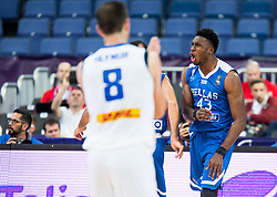 Thanasis Antetokounmpo of Greece reacts during basketball match between National Teams of Greece and Iceland at Day 1 of the FIBA EuroBasket 2017 at Hartwall Arena in Helsinki, Finland on August 31, 2017. Photo by Vid Ponikvar / Sportida