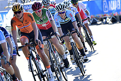 September 23, 2017 - Bergen, NORWAY - Belgian Jolien D'Hoore pictured in action during the women Elite road race at the 2017 UCI Road World Cycling Championships in Bergen, Norway, Saturday 23 September 2017. BELGA PHOTO YORICK JANSENS (Credit Image: © Yorick Jansens/Belga via ZUMA Press)