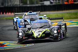 June 14, 2018 - Le Mans, FRANCE - 16 M RACING YMR (FRA) NORMA M30 NISSAN LAURENT MILLARA (FRA) NATAN BIHEL  (Credit Image: © Panoramic via ZUMA Press)