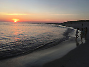 Sunset, Cape May Point, Atlantic Ocean
