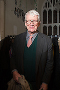 CHRISTOPHER GIBBS, Fashion and Gardens, The Garden Museum, Lambeth Palace Rd. SE!. 6 February 2014.