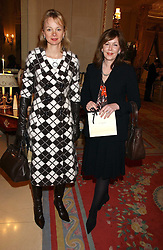 Left to right, the COUNTESS OF DERBY and ALEXIS REDMOND at a ladies lunch in aid of the NSPCC held at The Ritz, Piccadilly, London on 7th March 2006.<br /><br />NON EXCLUSIVE - WORLD RIGHTS