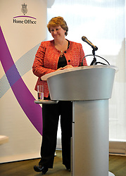 © licensed to London News Pictures. LONDON. UK  14/09/11. Caroline Waters OBE, Director of People and Policy, BT group. Home Secretary and Minister for Women and Equalities, Theresa May, launches 'Voluntary Gender Equality Analysis and Reporting' guidance for employers at Eversheds law firm in Central London today (14 Sept 2011). Photo credit should read Stephen SImpson/LNP