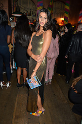 KATIE KEIGHT at a party to celebrate the launch of fashion retailer WeKoko.com held at Sketch, 9 Conduit Street, London on 13th April 2016.