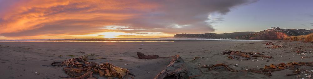 Christchurch Beach Panorama