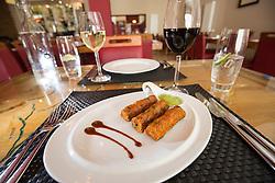 The lamb She kebab starter. Tam Cowan's review of the The Mumbai Mansion, 250 Morrison Street, Edinburgh.