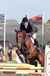 Van der Schans Wout Jan-Broere Never Expected<br />KWPN Paardendagen Ermelo 2000<br />Photo © Dirk Caremans