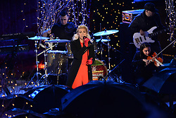November 30, 2016 - New York, NY, USA - November 30, 2016  New York City..Tori Kelly performing at The Rockefeller Center Christmas Tree lighting ceremony on November 30, 2016 in New York City. (Credit Image: © Callahan/Ace Pictures via ZUMA Press)