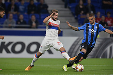 Lyon vs Atalanta Bergame - 28 Sept 2017