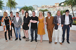 January 28, 2017 - Cannes, France - JOHN HURT UDO KIER CHARLOTTE GAINSBOURG KIRSTEN DUNST 64eme FESTIVAL DE CANNES 2011 - PHOTOCALL DE MELANCHOLIA (Credit Image: © Visual via ZUMA Press)