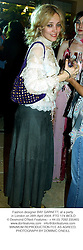 Fashion designer BAY GARNETT, at a party in London on 28th April 2004.PTO 174 WOLO