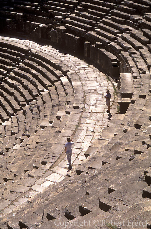 TURKEY, GREEK AND ROMAN Aspendos; best preserved theater 2c.AD