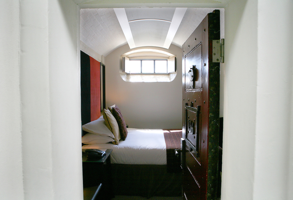 Malmaison Hotel, Oxford. Converted from a former prison.