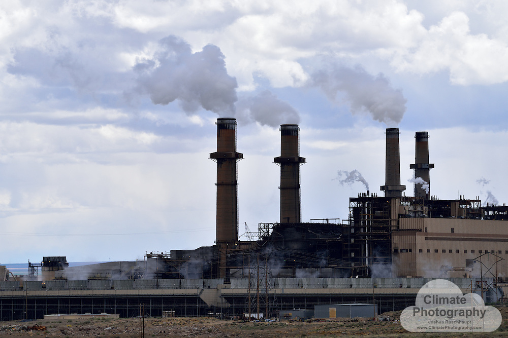 """#ThisIsClimateChange<br /> <br /> The San Juan Power Plant, the Four Corners Generating Station, and accompanying coal mines are pictured herein.  These projects have a long history of pollution and controversy.  <br /> <br /> Here are some articles to share that history and current events: <br /> <br /> Health and community impacts, LA Times: http://www.latimes.com/nation/la-na-new-mexico-coal-20141215-story.html<br /> <br /> Lawsuits, Western Environmental Law Center: http://www.westernlaw.org/our-work/climate-energy/clean-energy/clearing-air-new-mexico-and-four-corners-region<br /> <br /> Press release, Center for Biological Diversity: https://www.biologicaldiversity.org/news/press_releases/2016/four-corners-power-plant-04-20-2016.html<br /> <br /> Fact Sheet: http://www.wildearthguardians.org/site/DocServer/San_Juan_Generating_Station_Fact_Sheet.pdf?docID=1342<br /> <br /> Local debates, Tri-City Tribune: http://www.tricitytribuneusa.com/agreement-reached-local-plant-to-close-units-2-and-3-in-2017/<br /> <br /> Local operating approval, Farmington Daily Times: http://www.daily-times.com/story/news/local/four-corners/2015/12/16/prc-approves-san-juan-generating-station-plan/77368644/<br /> <br /> Although the Republican Party may desire to re-frame the discussion about coal as a """"clean"""" energy fuel (stating such in their latest policy platform), the facts of the matter say the opposite- coal kills through """"dirty"""" pollution in many ways: http://www.scientificamerican.com/article/how-coal-kills/.<br /> <br /> Unfortunately, locals will recreate around these power stations, catching fish, among other ways.  In a single day visit, there were several fishing parties present, with one saying he was strictly catch-and-release (observed), while another could be seen saving at least one fish for later (pictured).  Recreationists are warned by at least one sign not to swim in the water, but yet they seemed unaware of the hazard to their health about eating something that li"""