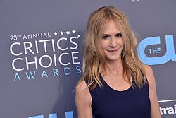 Holly Hunter at The 23rd Annual Critics' Choice Awards held at the Barker Hangar on January 11, 2018 in Santa Monica, CA, USA (Photo by Sthanlee B. Mirador/Sipa USA)