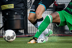 artificial grass, kunstgras during the Dutch Eredivisie match between Heracles Almelo and Feyenoord Rotterdam at Polman stadium on September 09, 2017 in Almelo, The Netherlands