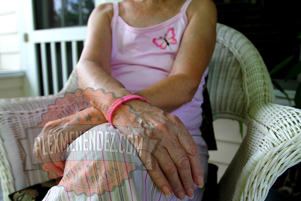 A cancer patient who is in constant discomfort, discusses the reason for potentially legalizing medical marijuana to control her pain. State residents, with the help of a group called United for Care and prominent Florida attorney John Morgan, are urging backers to sign petitions to get the legalization of medicinal marijuana on the ballot for the early 2014 Florida legislative session. This image taken in Florida on Thursday, June 13, 2013. (Photo/Alex Menendez)