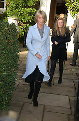 LADY COSIMA SOMERSET at the wedding of Lucy Ferry to Robin Birley held at Ormsby Lodge, Ham Gate Avenue, Ham, Surrey on 26th October 2006.<br /><br />NON EXCLUSIVE - WORLD RIGHTS