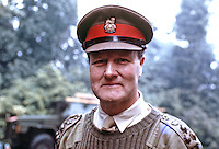 Brigadier David Bayley, deputy General Officer Commanding, N Ireland, UK,197007000260, 260/70.<br /> <br /> Copyright Image from Victor Patterson,<br /> 54 Dorchester Park, Belfast, UK, BT9 6RJ<br /> <br /> t1: +44 28 90661296<br /> t2: +44 28 90022446<br /> m: +44 7802 353836<br /> <br /> e1: victorpatterson@me.com<br /> e2: victorpatterson@gmail.com<br /> <br /> For my Terms and Conditions of Use go to<br /> www.victorpatterson.com