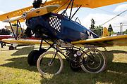 Fleet biplane at Wings & Wheels