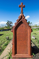 Grave site of Mary Moffet, the wife of David Linvingston the explorer, Zambezi River Floodplain, Sofala Province, Mozambique